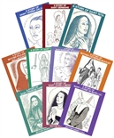 Female Saints and Blessed Set 1